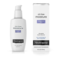 Neutrogena Sensitive Skin Oil-Free Facial Moisturizer 120 ml