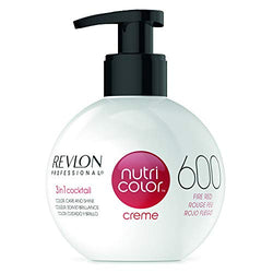 REVLON PROFESSIONAL Nutri Colour Creme 600 Fire Red 270 ml