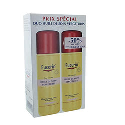 Eucerin Stretch Marks Care Oil with Natural Oils 2 x 125ml