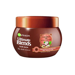 Garnier Ultimate Blends Coconut Oil Frizzy Hair Treatment Mask, 300ml