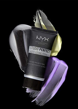 NYX Professional Makeup Studio Perfect Primer - Lavender, Makeup Primer Base, Even Complexion, Minimises Fine Lines And Pores, Vegan Formula