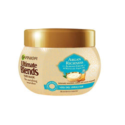Garnier Ultimate Blends Argan Oil and Almond Hair Treatment Mask, 300ml