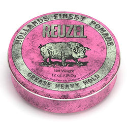 Reuzel pomade pink grease heavy hold, 340 g, 869519000044