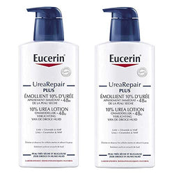 Eucerin Complete Repair Emollient Lotion 10% Urea 2 x 400ml