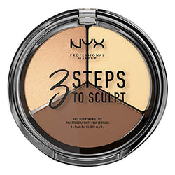 NYX Professional Makeup 3 Steps To Sculpt - Light, 0.079 kg