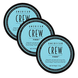 AMERICAN CREW FIBER x 3 TEXTURE, MATT FINISH. STRONG HOLD. LARGE 50G WAX