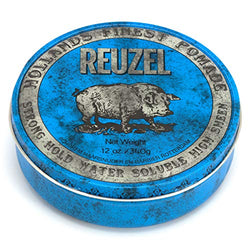 Reuzel Pomade Blue Strong Hold High Sheen (12 oz (340 g))