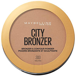 MAYBELLINE - City Bronzer Bronzer & Contour Powder Makeup Deep - 0.32 oz (9.25 g)