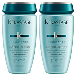 Kerastase Bain Force Architecte 250ml Double Pack - New Formula