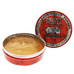 REUZEL Red Water Pomade, Soluble, High Sheen, Pack of 1 (1 x 340g)