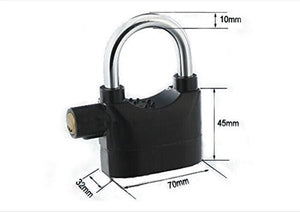 Anti Theft Motion Sensor Alarm Lock for Home, Office and Bikes, Security Lock Wholesale Only