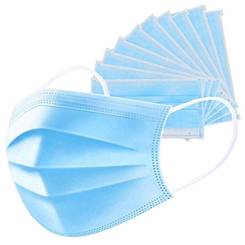3-Ply Meltblown Disposable Surgical face Mask with filter (Pack of 50)