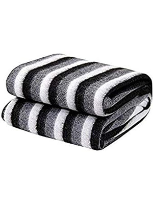 AC Blanket (Single_Black And White)