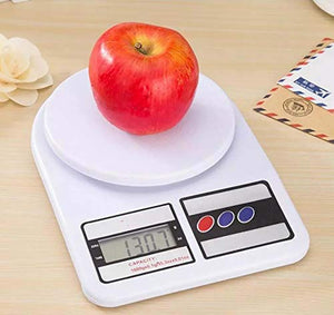 Electronic Kitchen Digital Weighing Scale, Multipurpose (White, 10 Kg) Wholesale Only