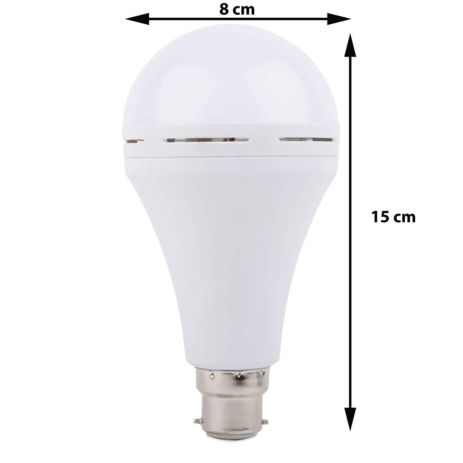 Electric LED Inverter, Rechargeable, Emergency Bulb 9W B22 White