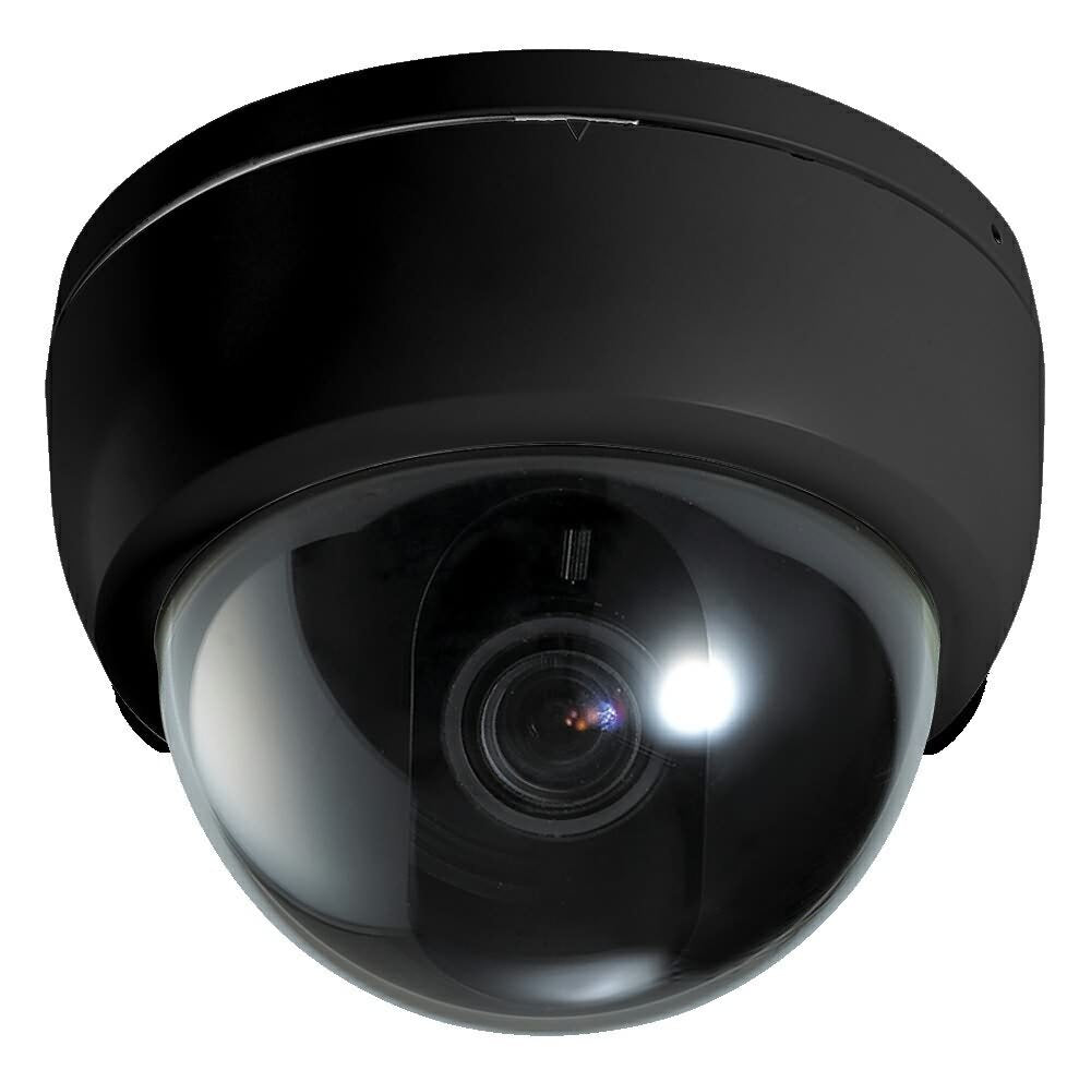 Dummy CCTV Fake Dome Security Camera Motion Detection System