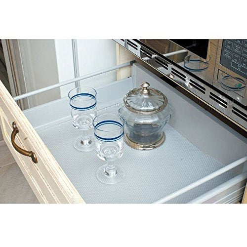 Transparent Anti-Slip Mat / Sheet For Kitchen, Shelf, Drawer, Liner (45 X 120 cm )