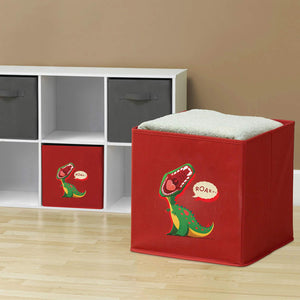 Kids Storage Box For Toys Organizer Folding Bins Plush Toy Box
