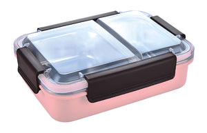 Duo Star Stainless Steel Lunch Box