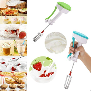 Power-free Hand Blender and Beater with High Speed Operation (Multicolour)