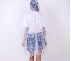 Portable Disposable Raincoat Ball Poncho Rain Coat