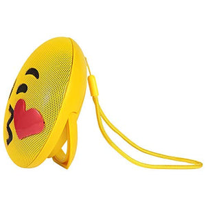 Portable Voice Controlled Emoji Stereo bt Wireless Bluetooth Speaker (Emoji Design)