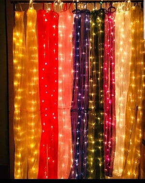 Door, Window decorate net with light