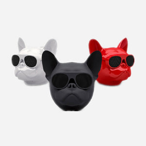 1 pc. Portable Dog Head Wireless Bluetooth Speaker Stereo Music Subwoofer