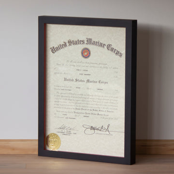SNCO Promotion Warrant Gallery Frame