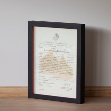 Promotion Warrant Gallery Frame