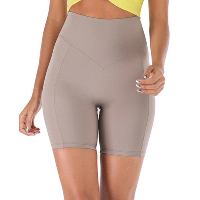 The High Waist Shorts - Bodyfitfab