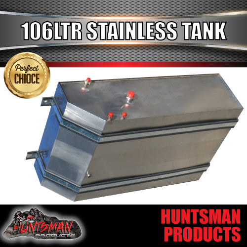 Stainless Steel 106 Litre Water Tank & Brackets.