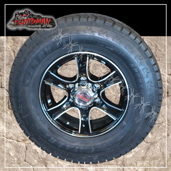 "16"" 6 stud Stealth Alloy Mag Wheel & 245/75R16 L/T Tyre. 245 75 16"