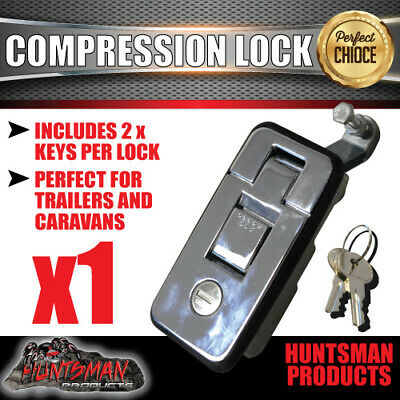 X1 Small Chrome Compression Lock