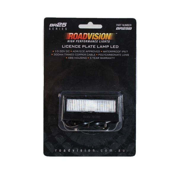 Roadvision LED Licence Lamp BR25B