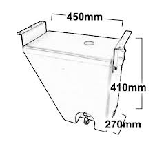 WIDE BODY 30 LITRE MUDGUARD WATER TANK