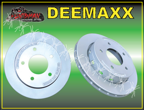 DEEMAXX SLIP OVER HYDRAULIC DISC BRAKE KIT 5 STUD. STAINLESS STEEL CALIPERS