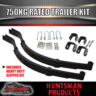 DIY SINGLE AXLE TRAILER KIT. 750KG RATED. JAPANESE BEARINGS