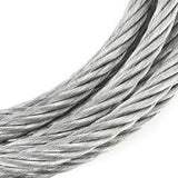 300 Metres Zinc Plated 7x7 steel 4mm Wire Cable Rope