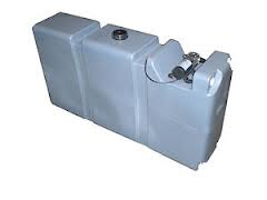 80 LITRE LONG WATER TANK WITH 12V PUMP