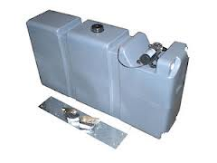 80 LITRE LONG WATER TANK WITH MOUNT KIT AND 12V PUMP