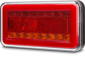 Pair Roadvision led Sequential Combination Rear Light. 150mm x 80mm