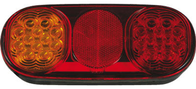 Pair BR203 Roadvision Boat Trailer Combination Lights