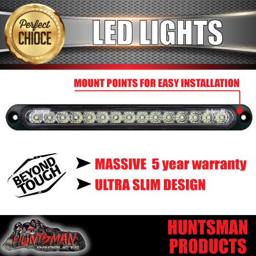 Roadvision LED Rear Ultra Slim Reverse Strip Light. 252mm x 28mm