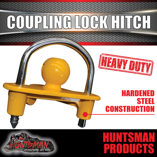 Heavy Duty Tow Ball Coupling Lock Hitch.