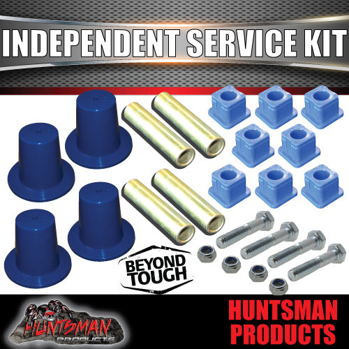 New Style Huntsman Products Independent Suspension Full Service Kit. Thicker Bushes