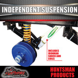 TANDEM INDEPENDENT SUSPENSION 3200KG.  IRONMAN SHOCKS & COILS