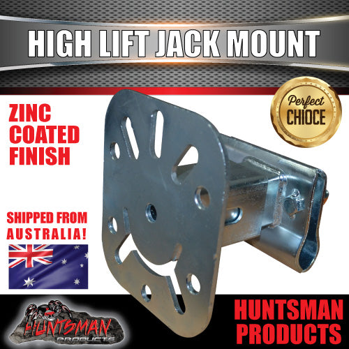 High Lift Jack Mount. Mounts to Spare wheel Holder