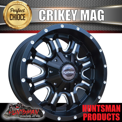 "17x9, +18 Offset ""Crikey"" Mag Wheel 6/139.7 pcd"
