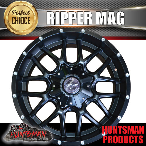 "20x9, +20 Offset ""Ripper"" Mag Wheel 6/139.7 pcd"